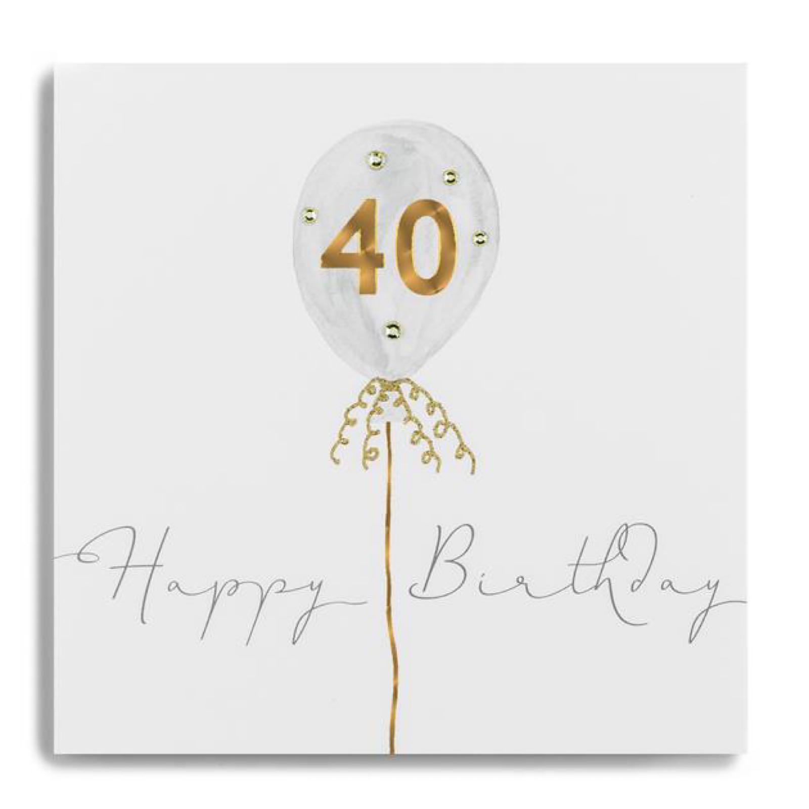 Janie wilson 40 card