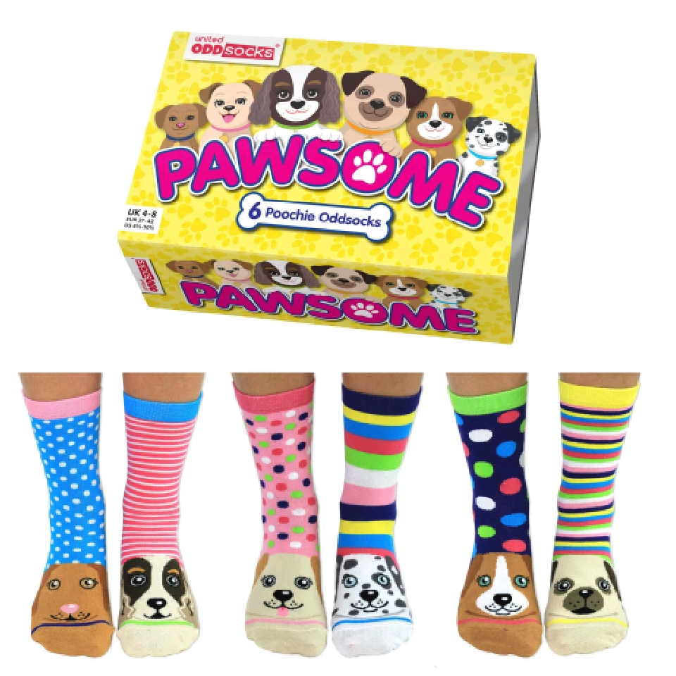 Pawsome Socks Gift Set
