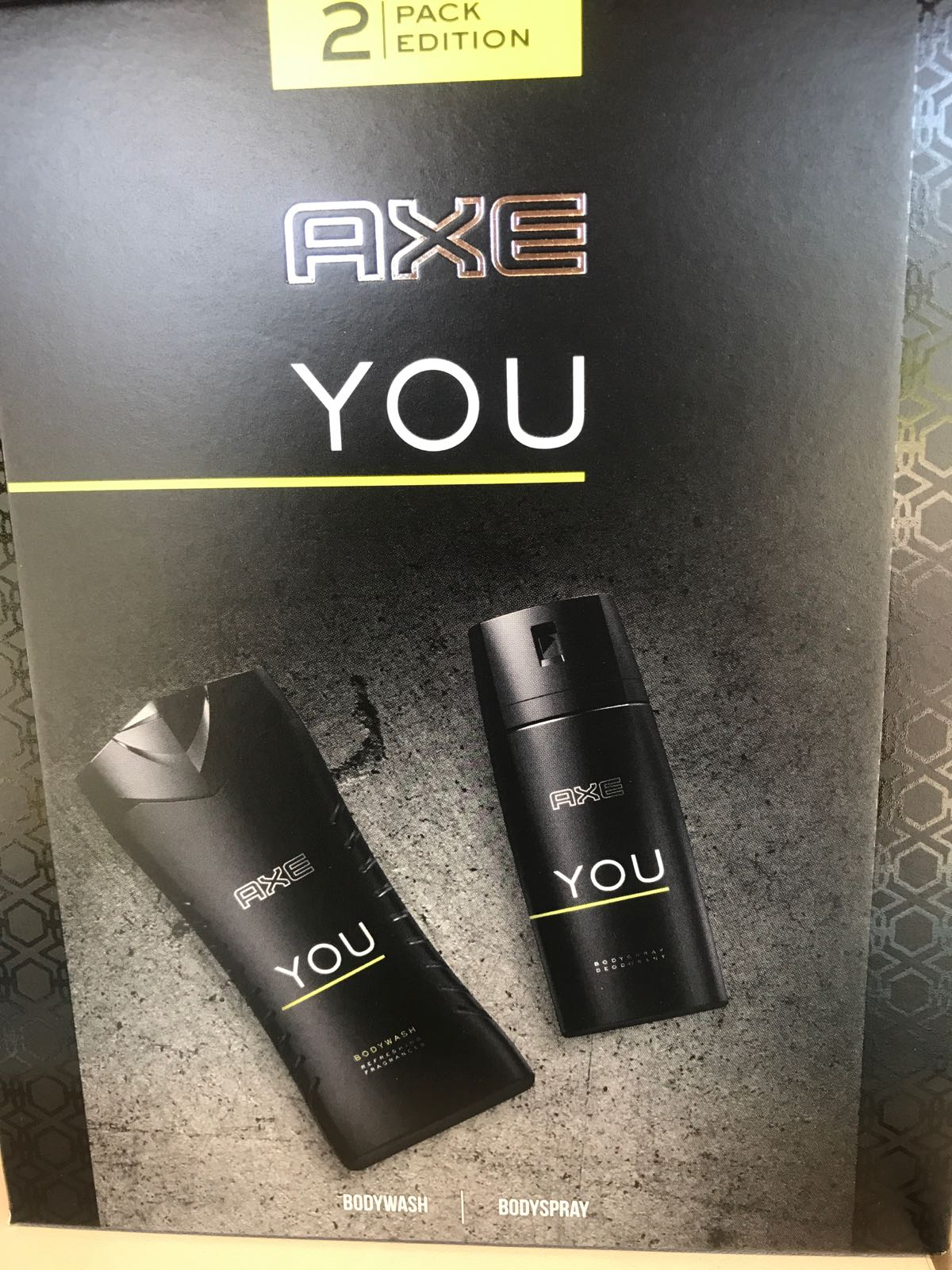 Axe Deo spray 150ml + Dush 250ml YOU