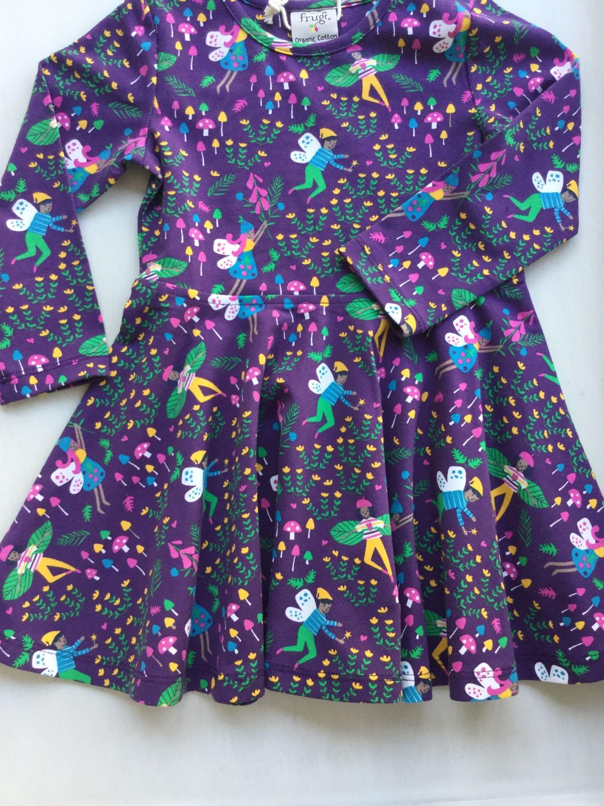 Frugi - Sofia Skater Dress - Fairy Friends
