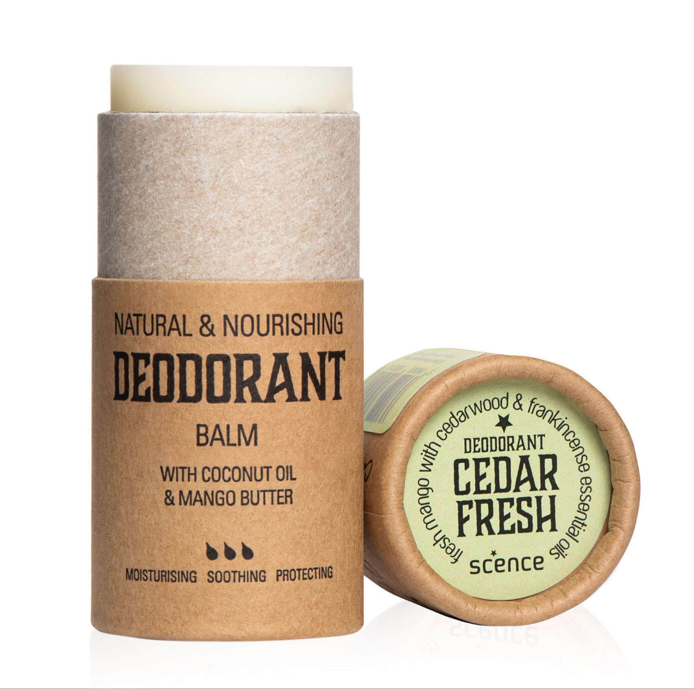 Scence Deodorant Balm- Cedar Fresh