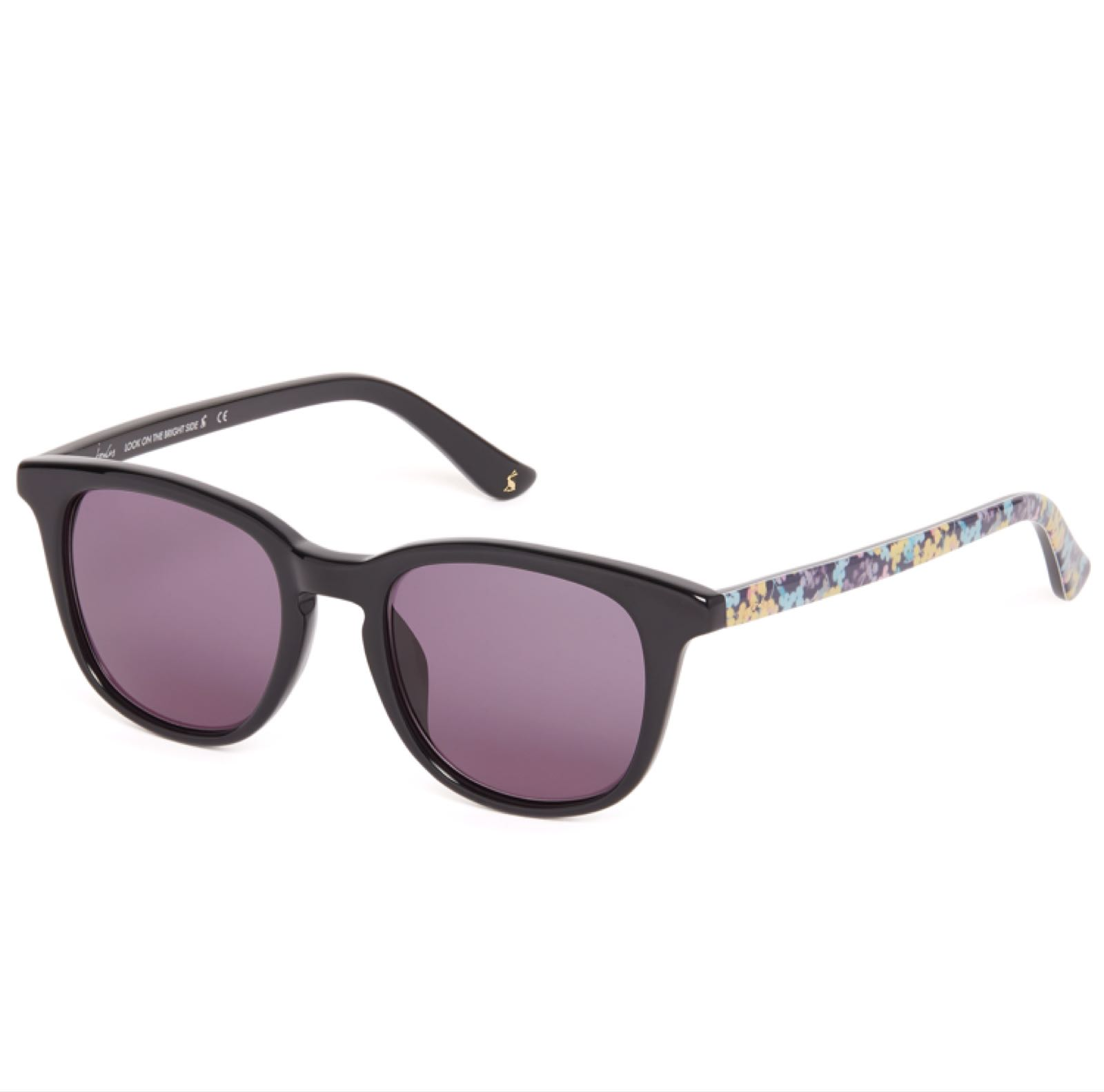Joules black floral sunglasses was £75