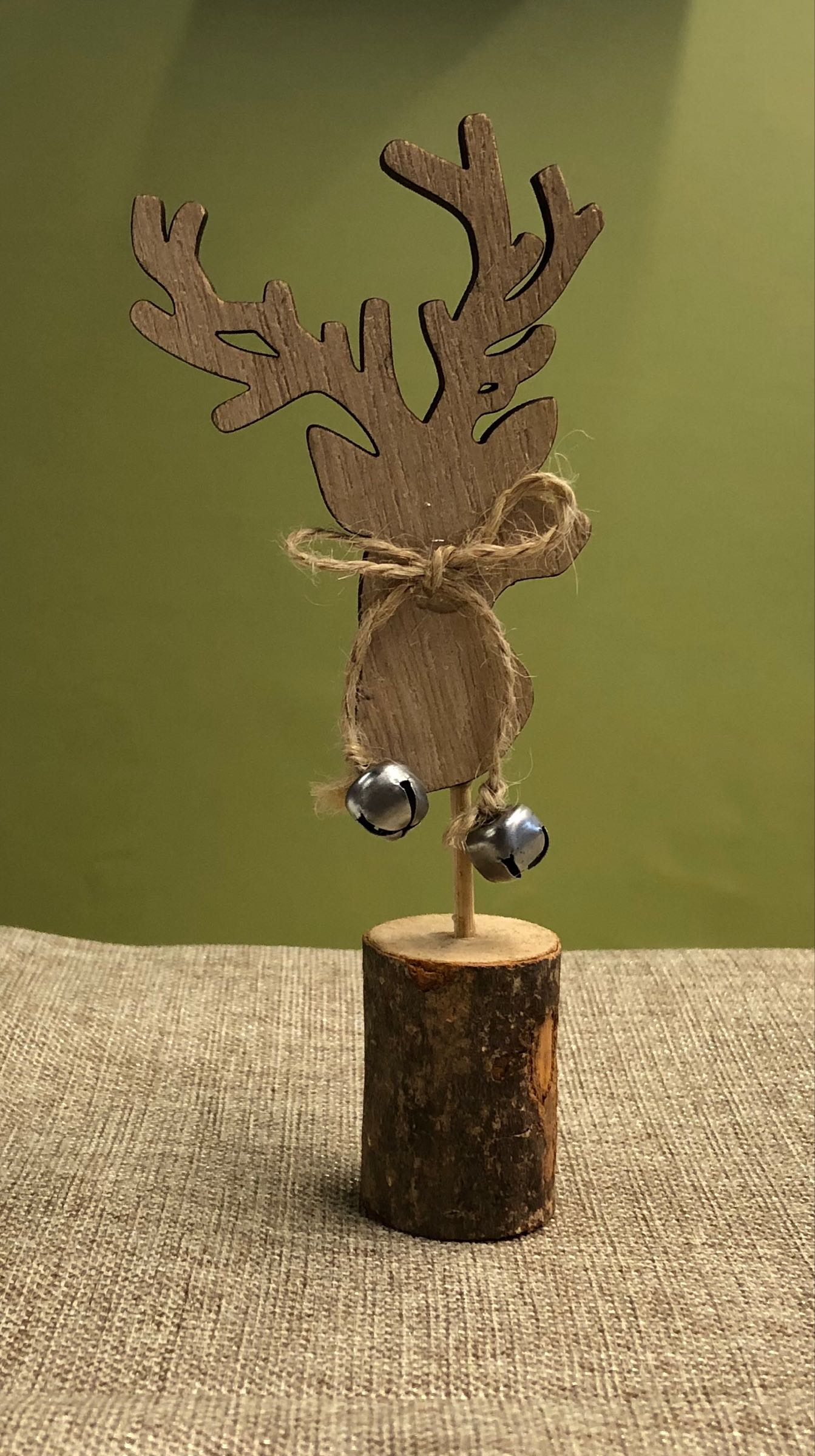 Reindeer stick mini decoration