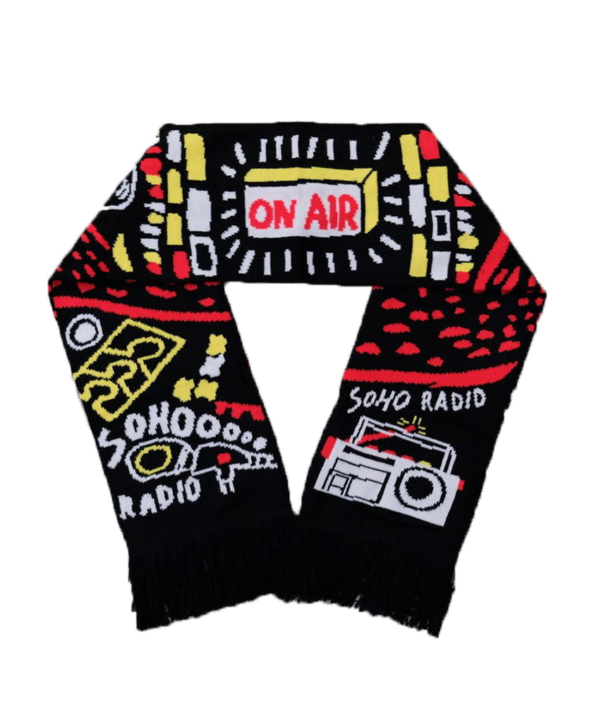 Soho Radio Scarf - Designed by Ben Connors