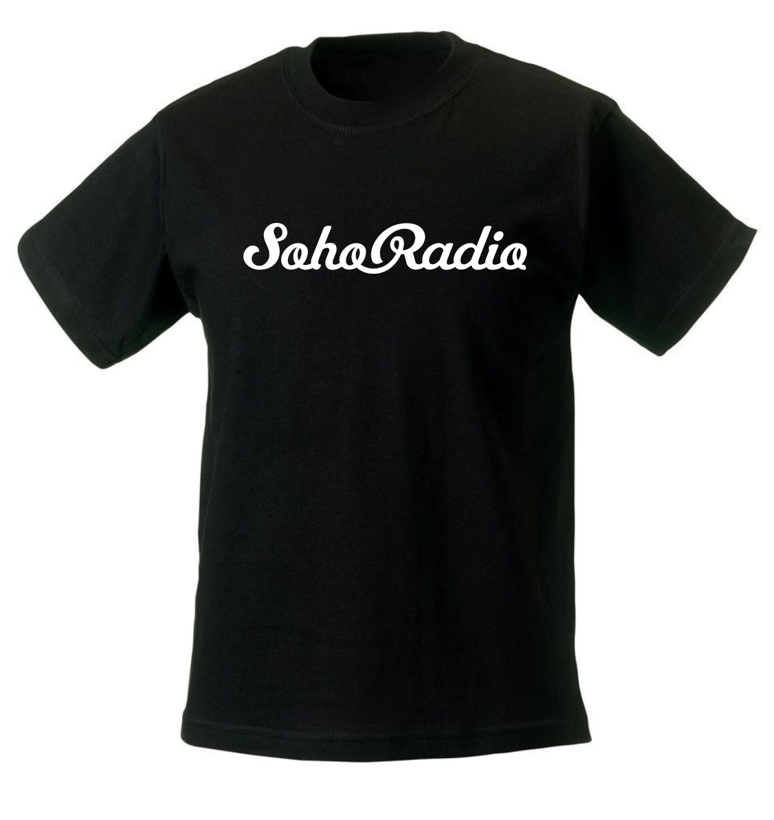 Soho Radio T-Shirt in Black