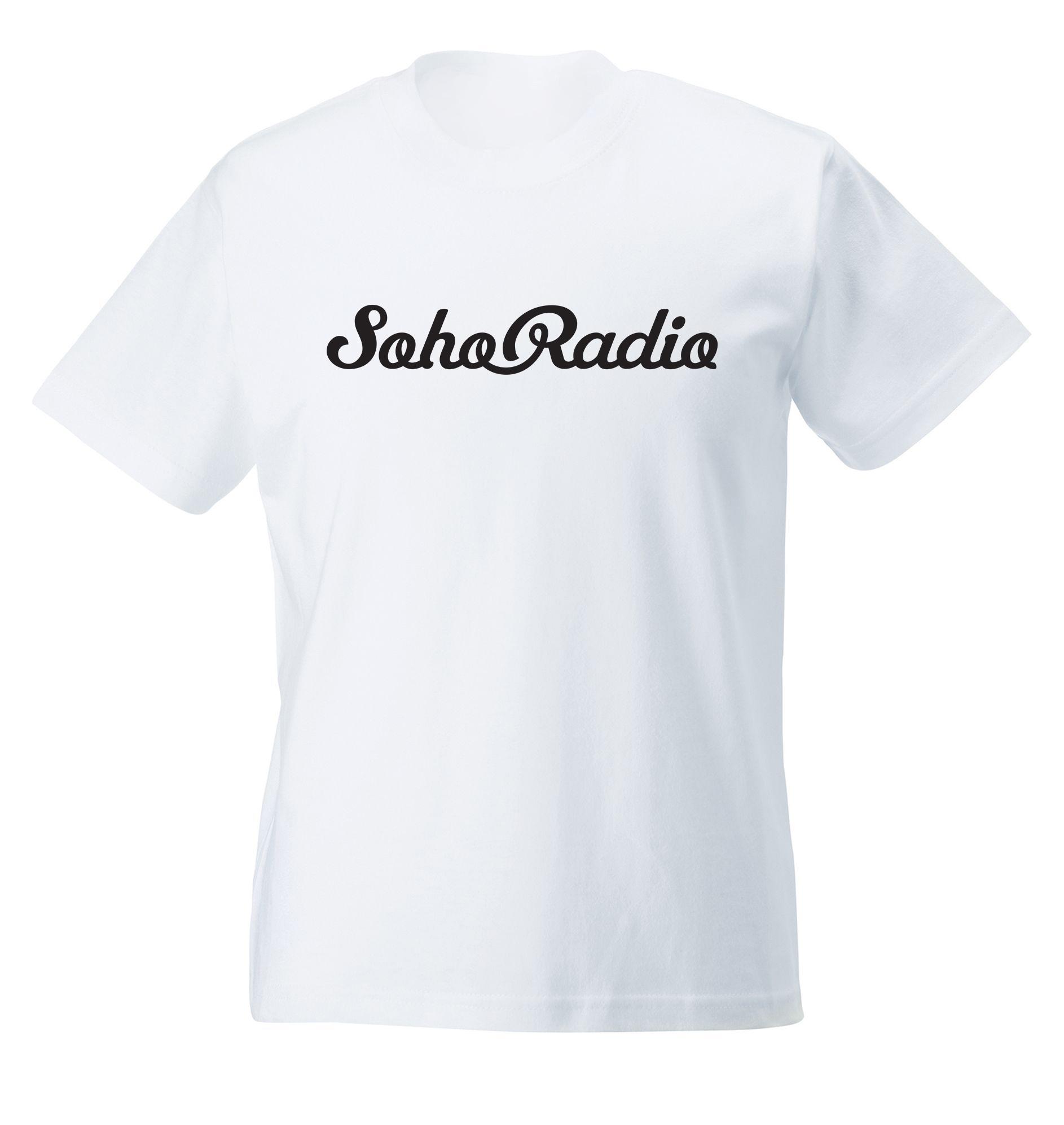 Soho Radio T-Shirt in White