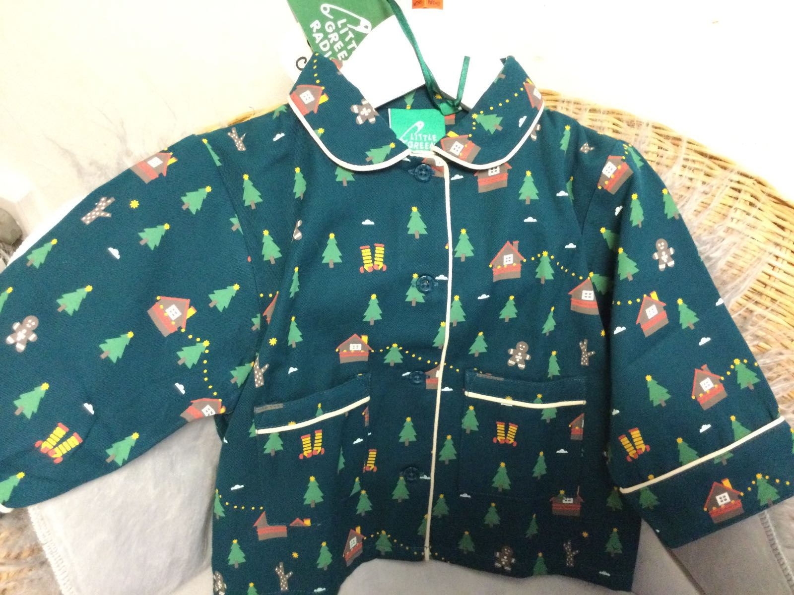 Little Green Radicals -   A winters walk classic pyjamas