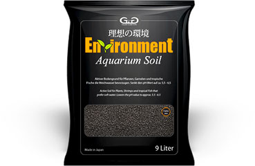 GlasGarten Enviroment aquarium soil 4L