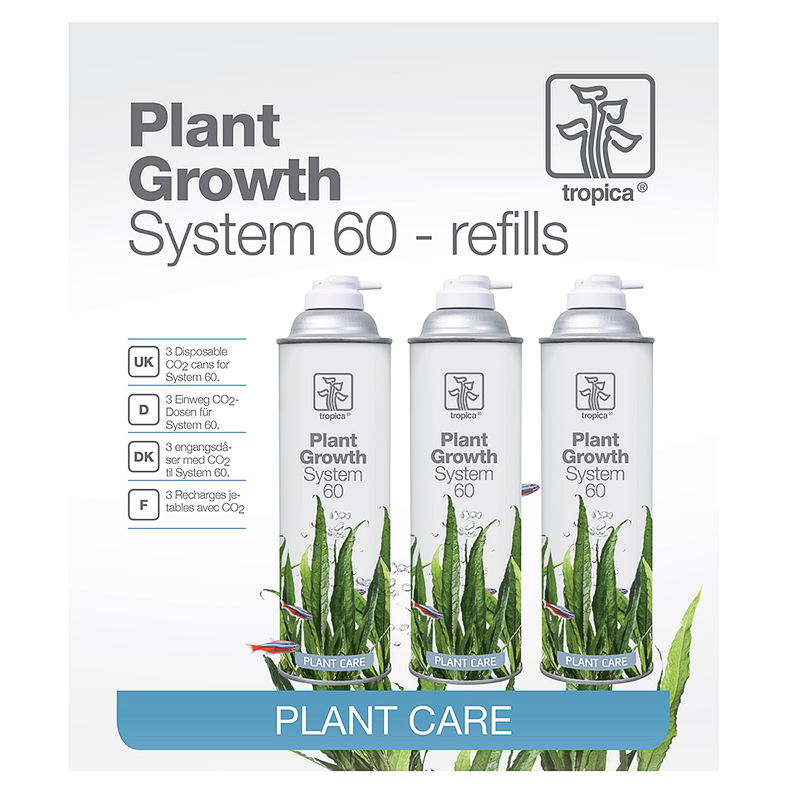 Tropica CO2 System 60 Refill 3 pack