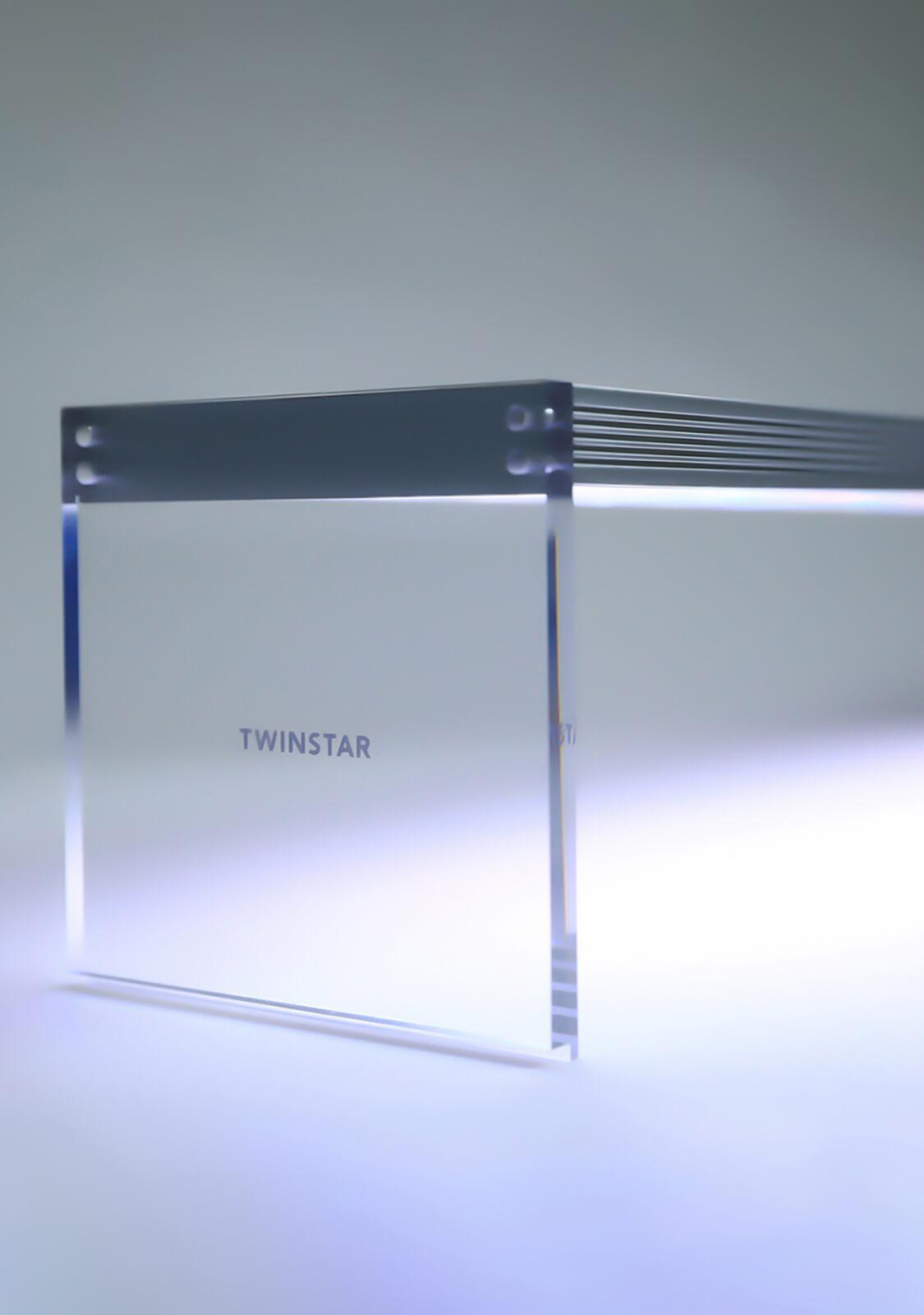 Twinstar LED Aquarium Light Acrylic 600E