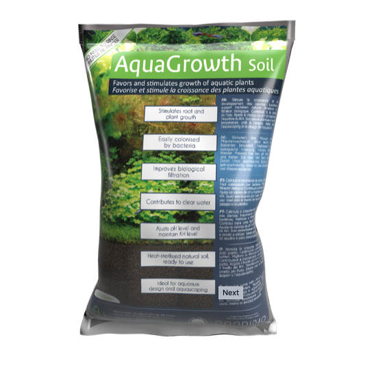 Prodibio AquaGrowth Soil 9kg + (FREE Bacter Kit)