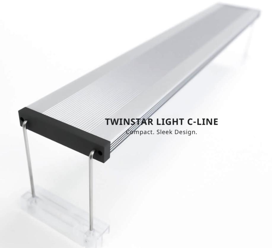 TWINSTAR LED Aquarium Light 600CA wRGB (Adjustable)
