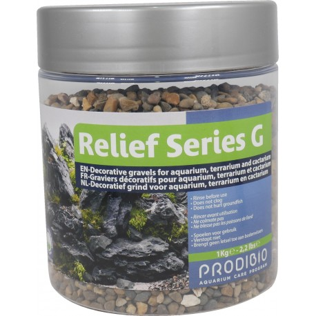 Prodibio Relief Series G02 (small mix natural Gravel) 1kg