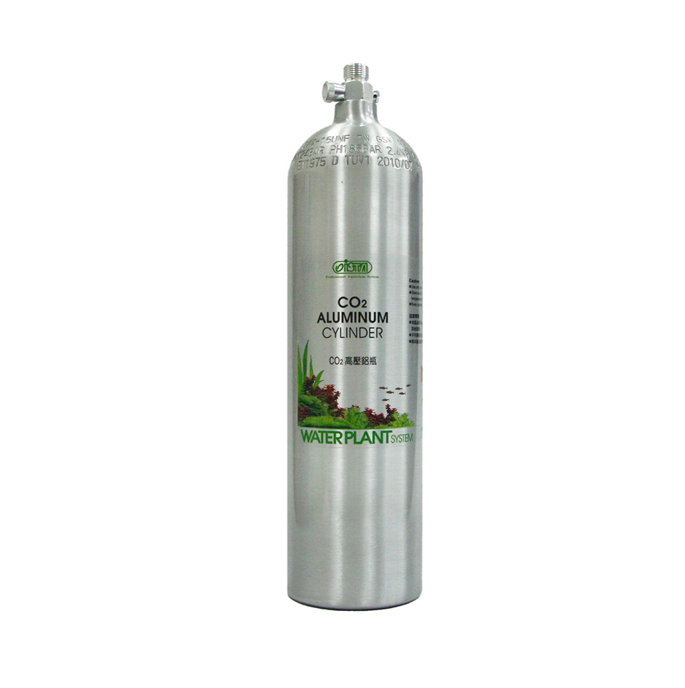 Ista Aluminum Co2 Cylinder 3.0L/2.3kg (Face Up)