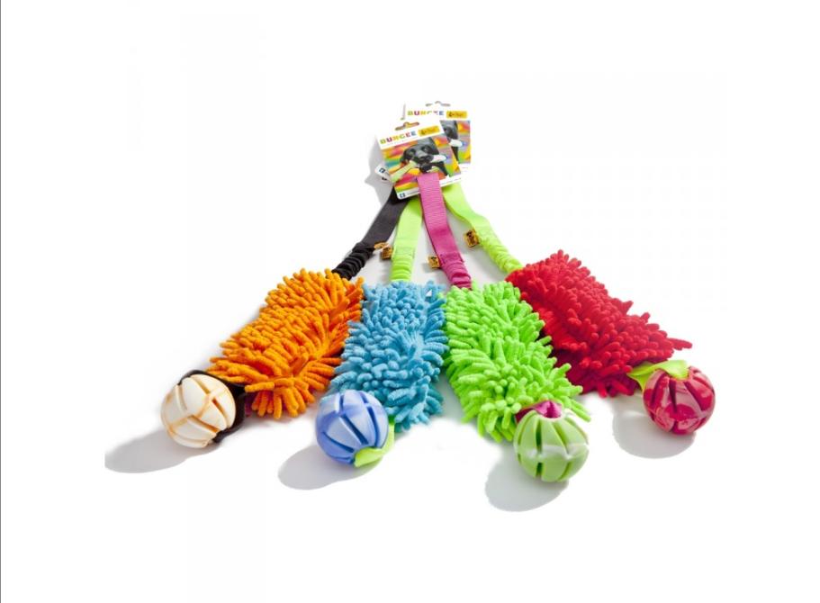 Draleke m/strikk, mopp og ball