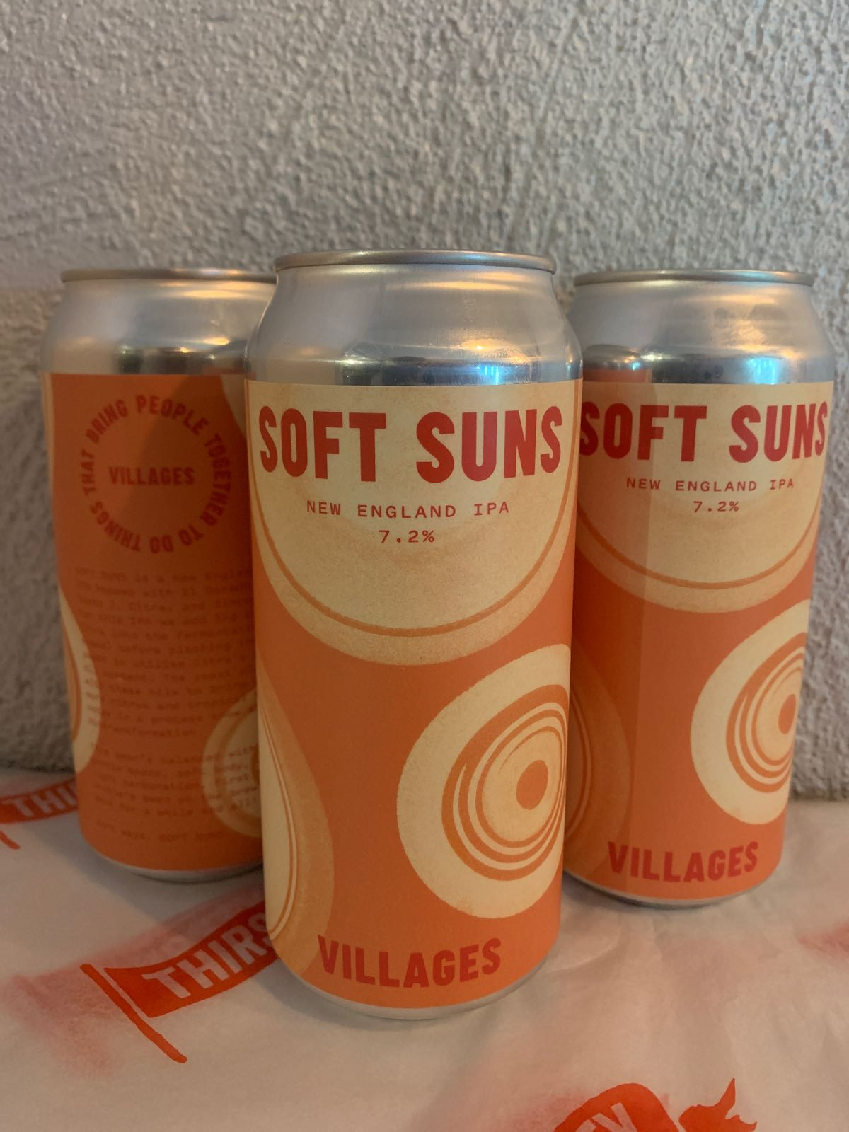 Villages | Soft Suns | New England IPA 7.2% 440ml
