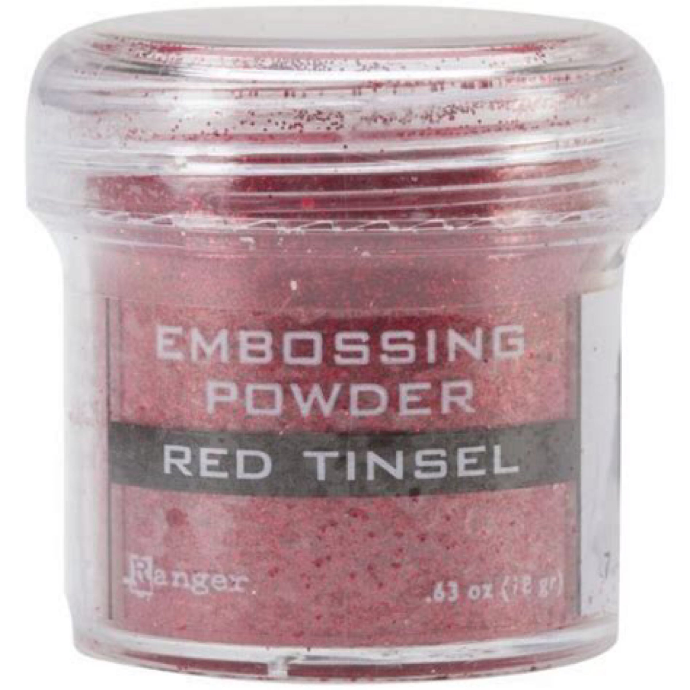Ranger Embossing Powder Red Tinsel