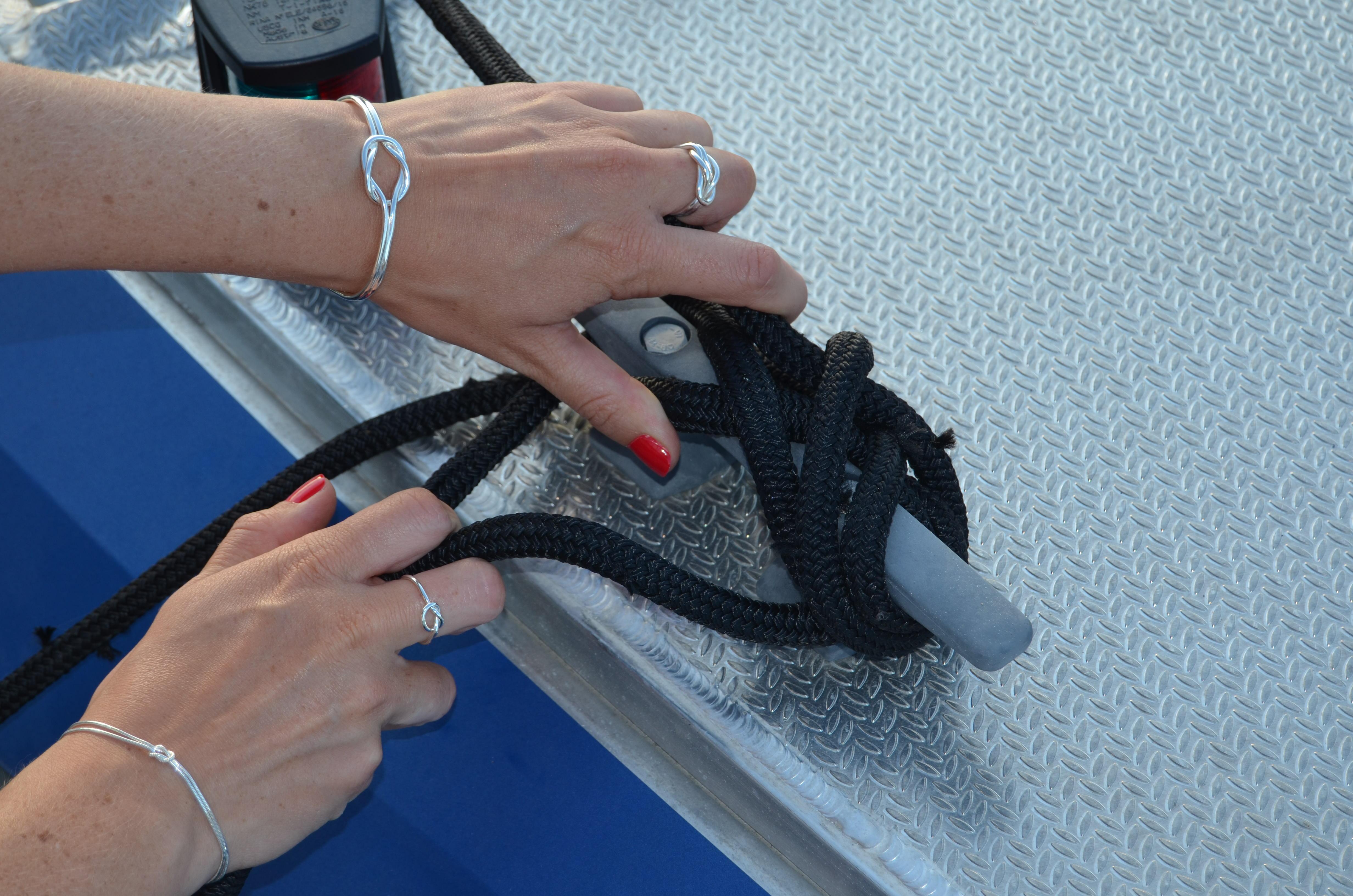Råbandsknop Armband