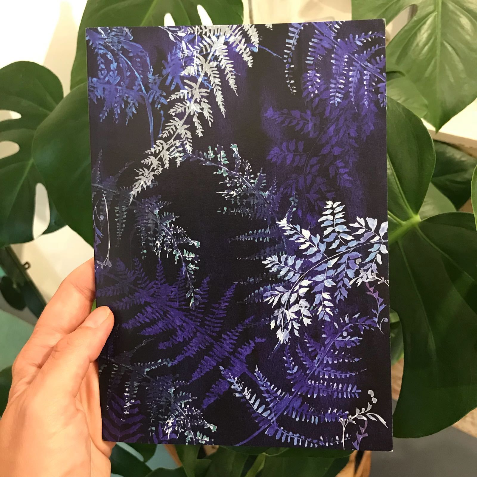 Cyano Ferns Notebook