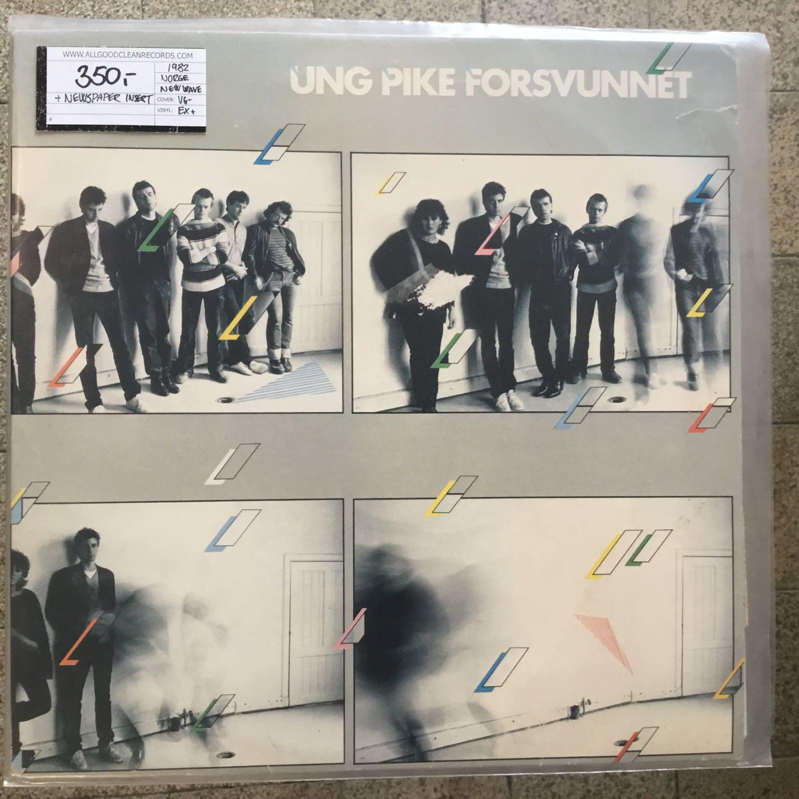 Ung Pike Forsvunnet – Ung Pike Forsvunnet [LP] (2. hand)