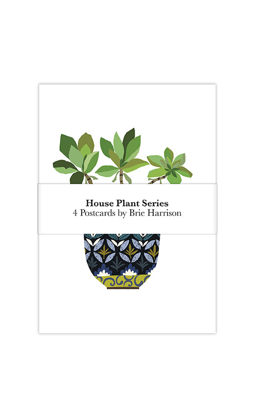 House Plant series postcard pack
