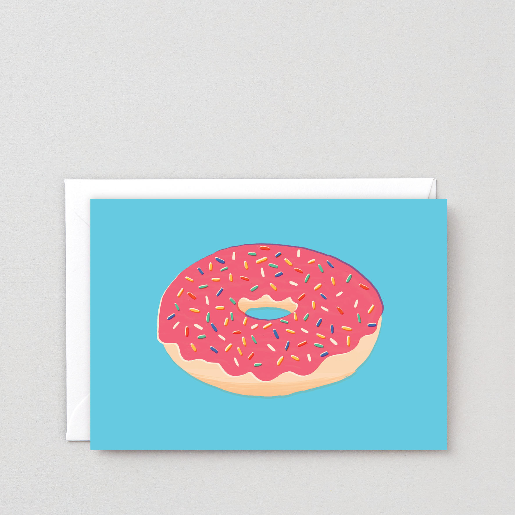 Doughnut with Sprinkles card