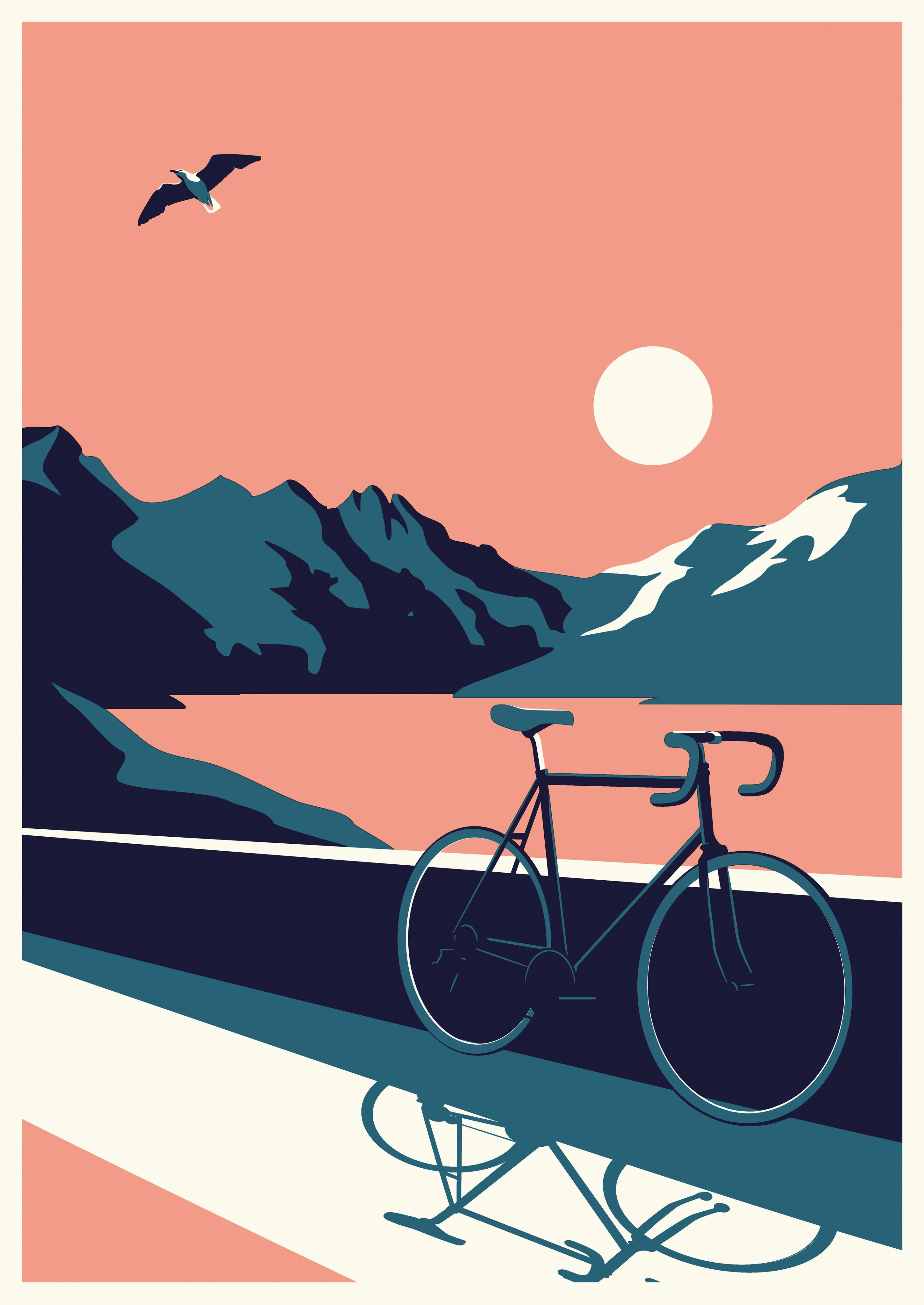 Summertime Travel – Bike (Telegramme Paper co.)
