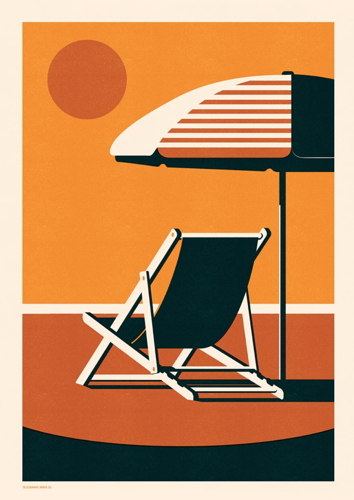 Endless Summer - Deckchair - Screenprint