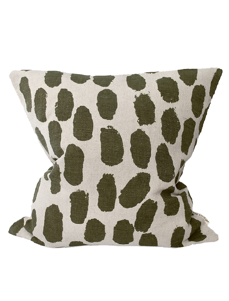 Dots Cushion Cover Olive