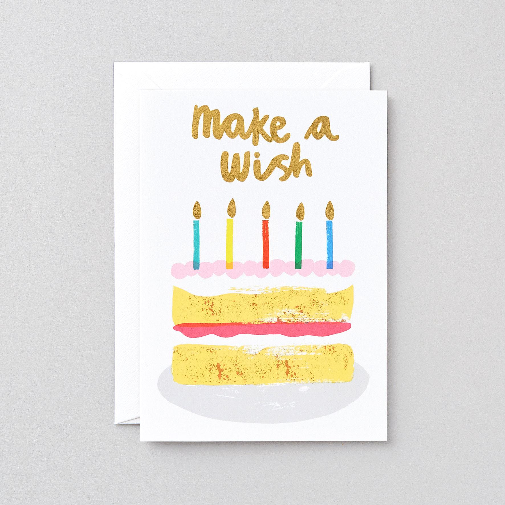 Make a Wish Birthday Cake