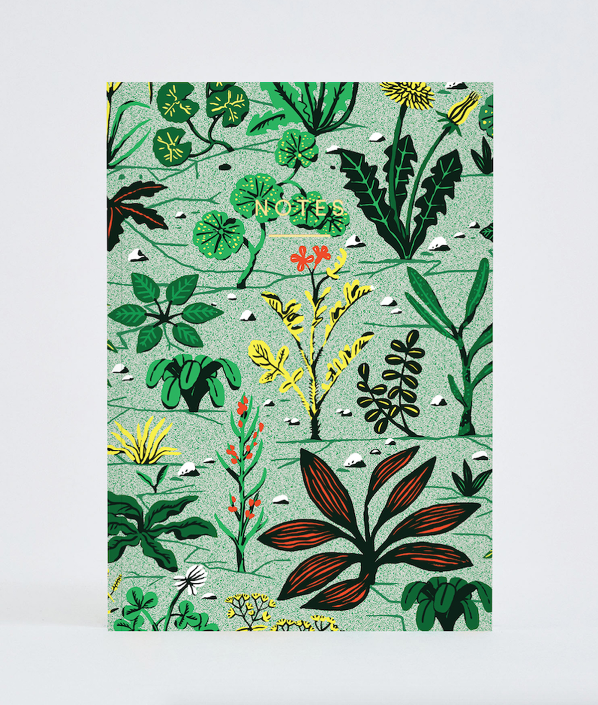Weeds Notebook - A5 plain