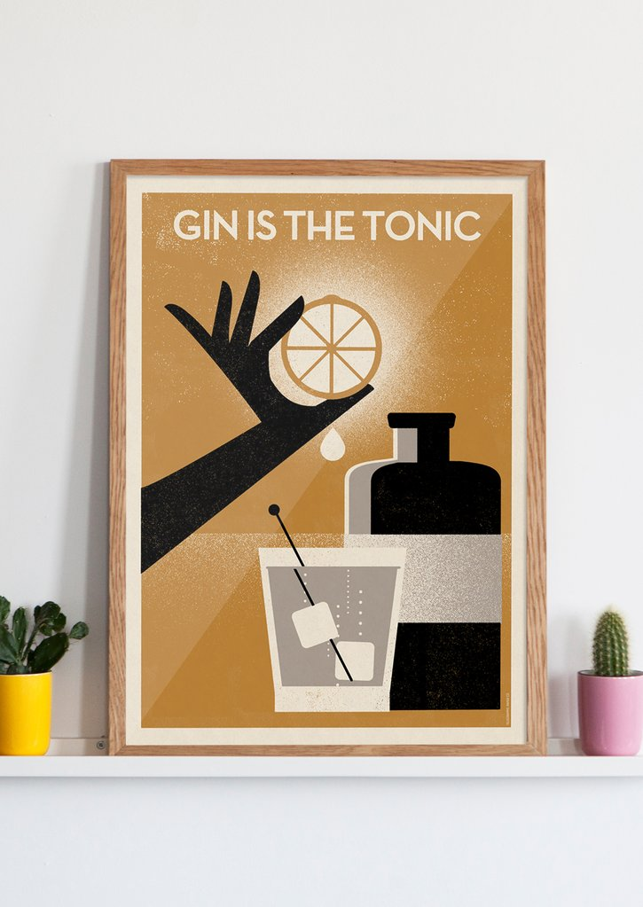 Gin is the Tonic (Telegramme Paper co.)