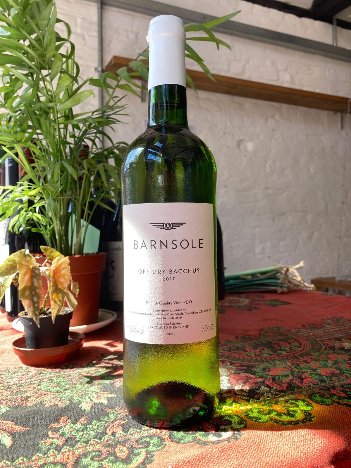 Barnsole - Off Dry Bacchus (11.5%) (Staple, nr Canterbury)