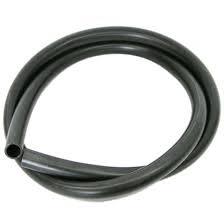 Deltec Silikon slange 4/6 mm svart