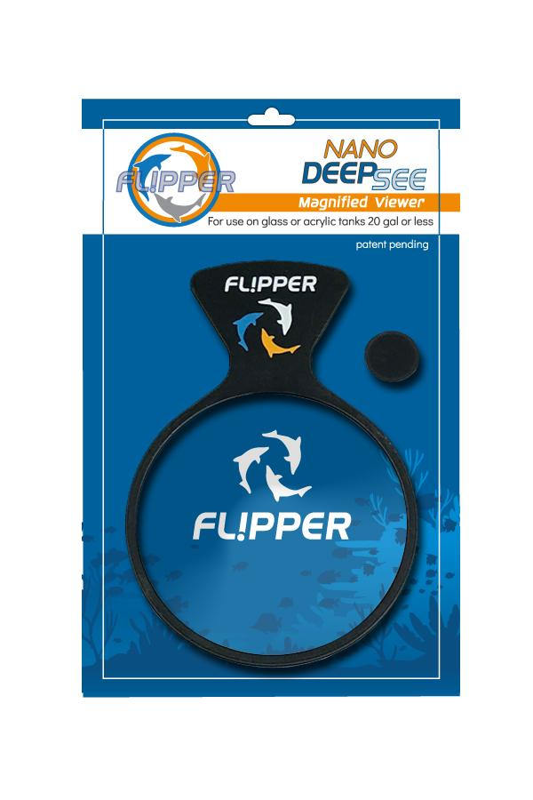 Flipper DeepSee Nano - Magnified Aquarium Viewer