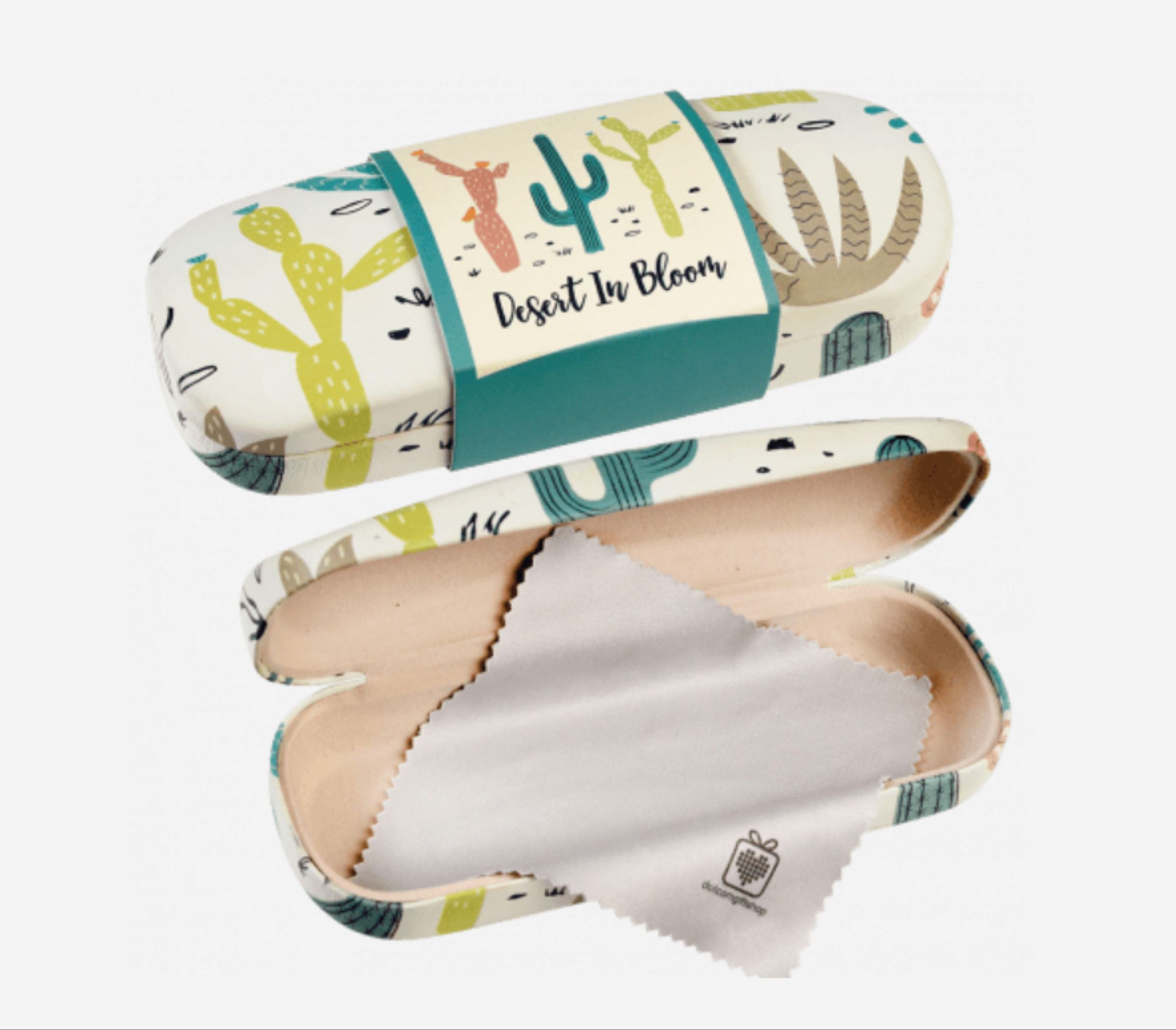 Desert in Bloom Glasses Case & Cleaning Cloth