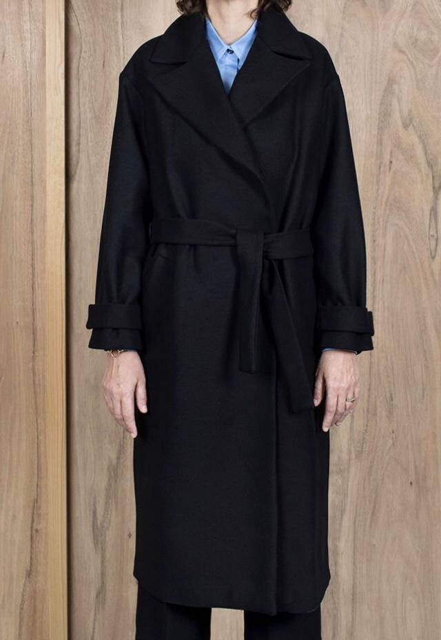 ASK X EMBLA Tiril coat black