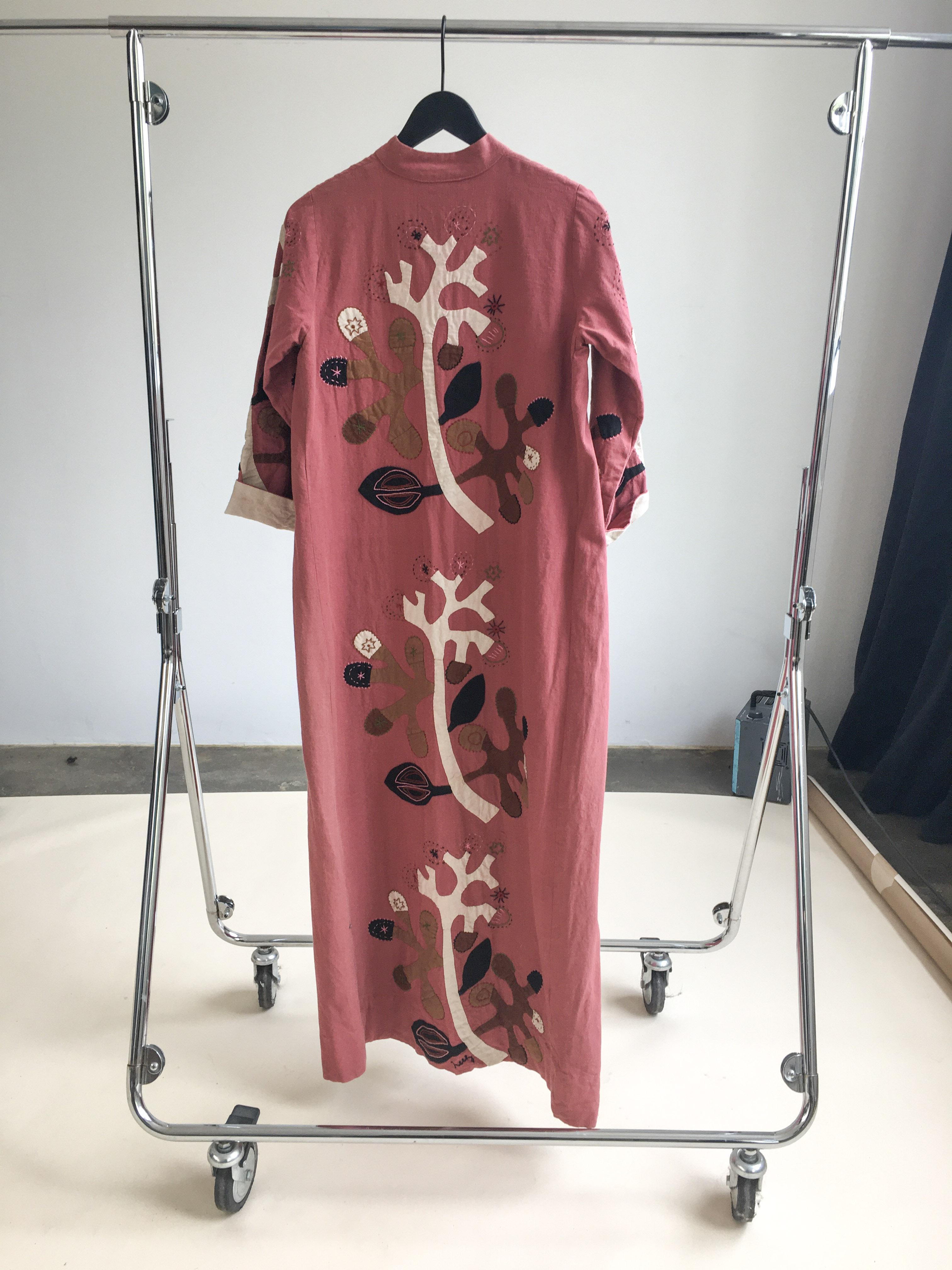 Myre Couture embroidered vintage kaftan