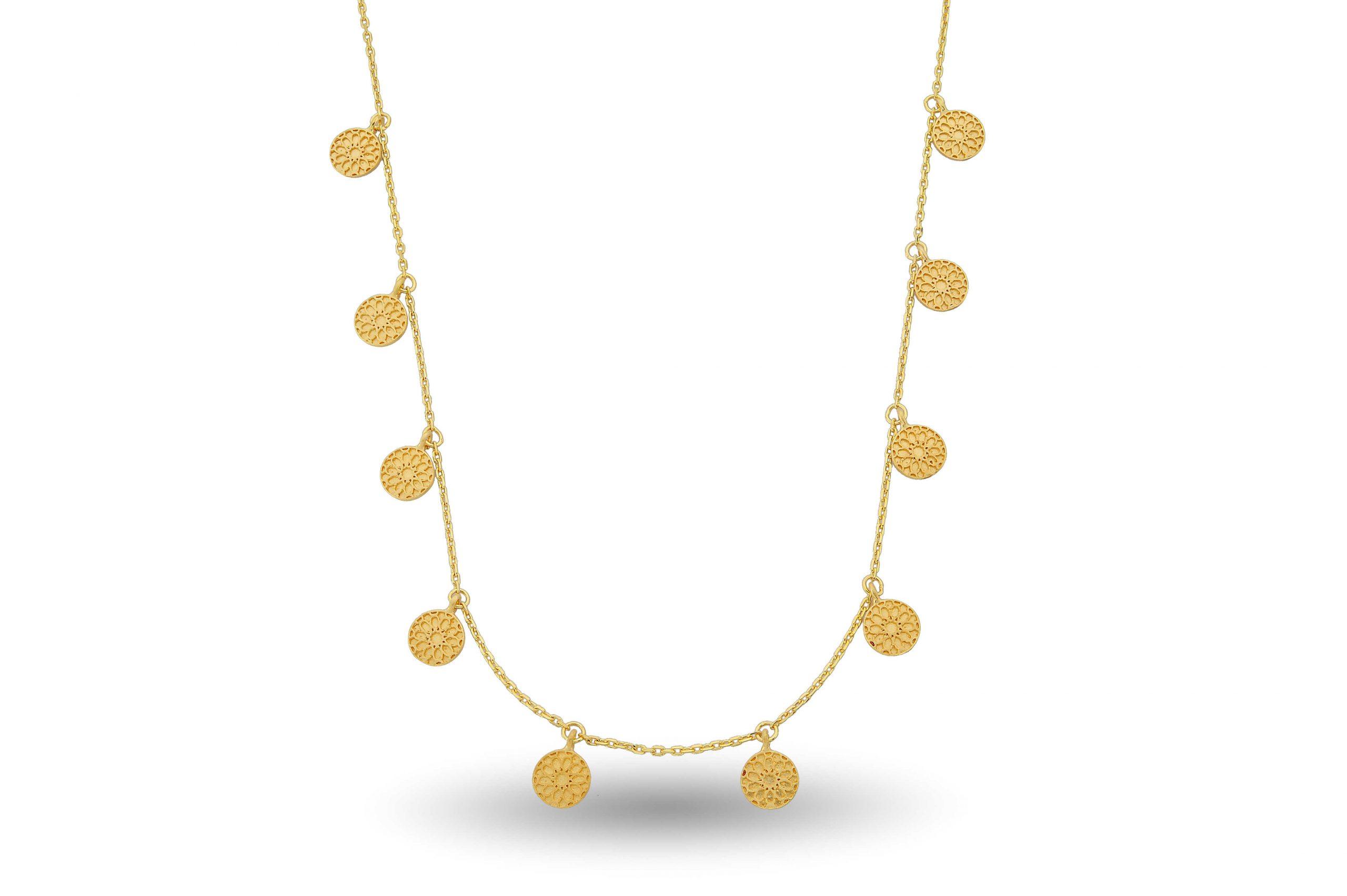 Necklace, shevin chocker Bosperous