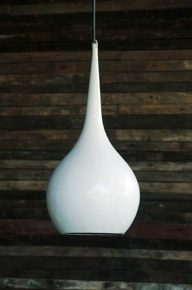 Nomad Living Teardrop white lamp