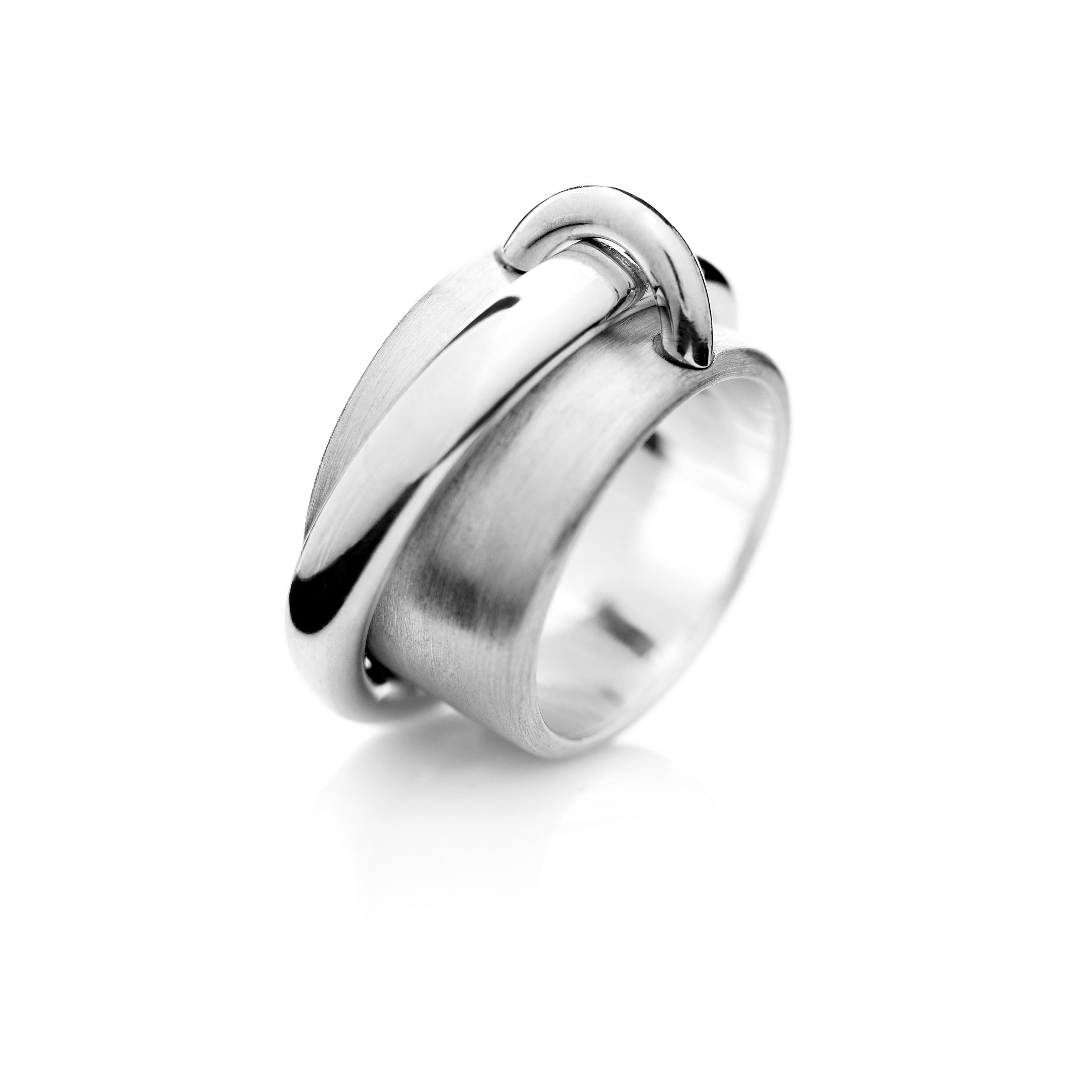 Saturn ring sterlingsilver