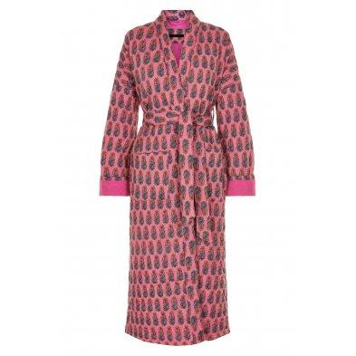 Quilted long kimono, girley hurley Vibeke Scott