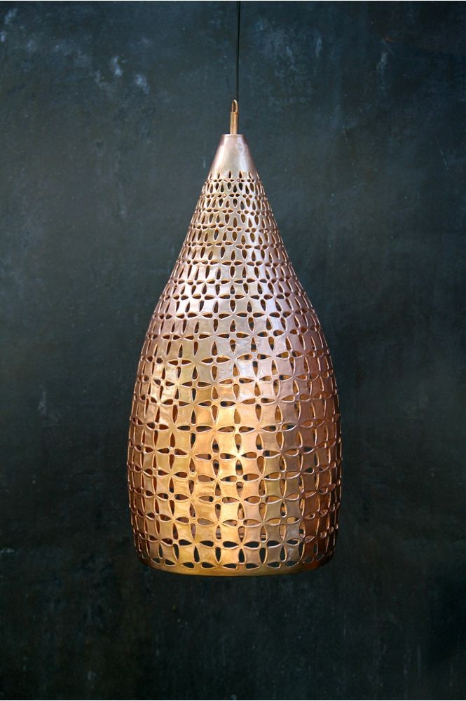 Nomad Living Cassiopeia L lamp copper