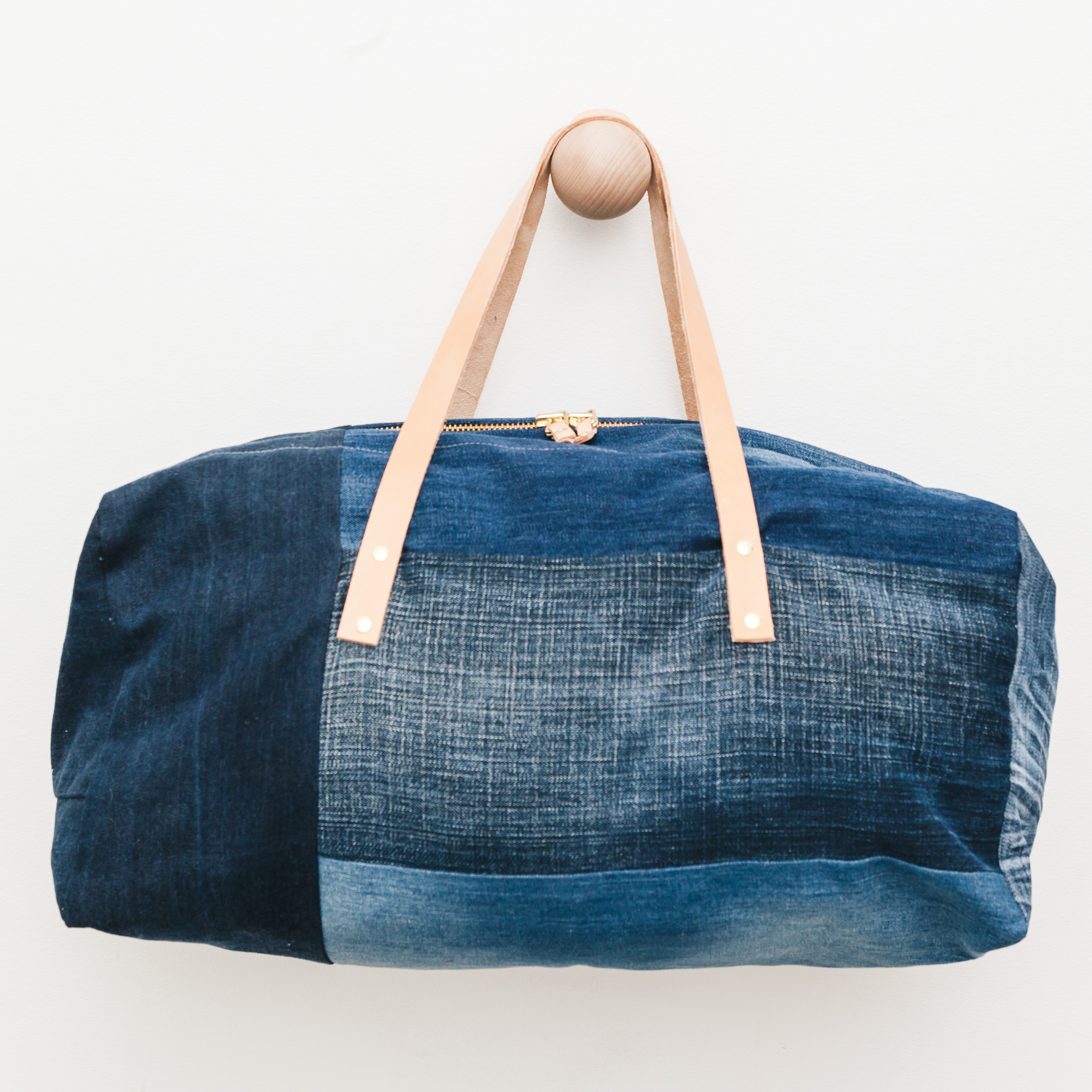 SOLD OUT Naked Society duffle bag, denim