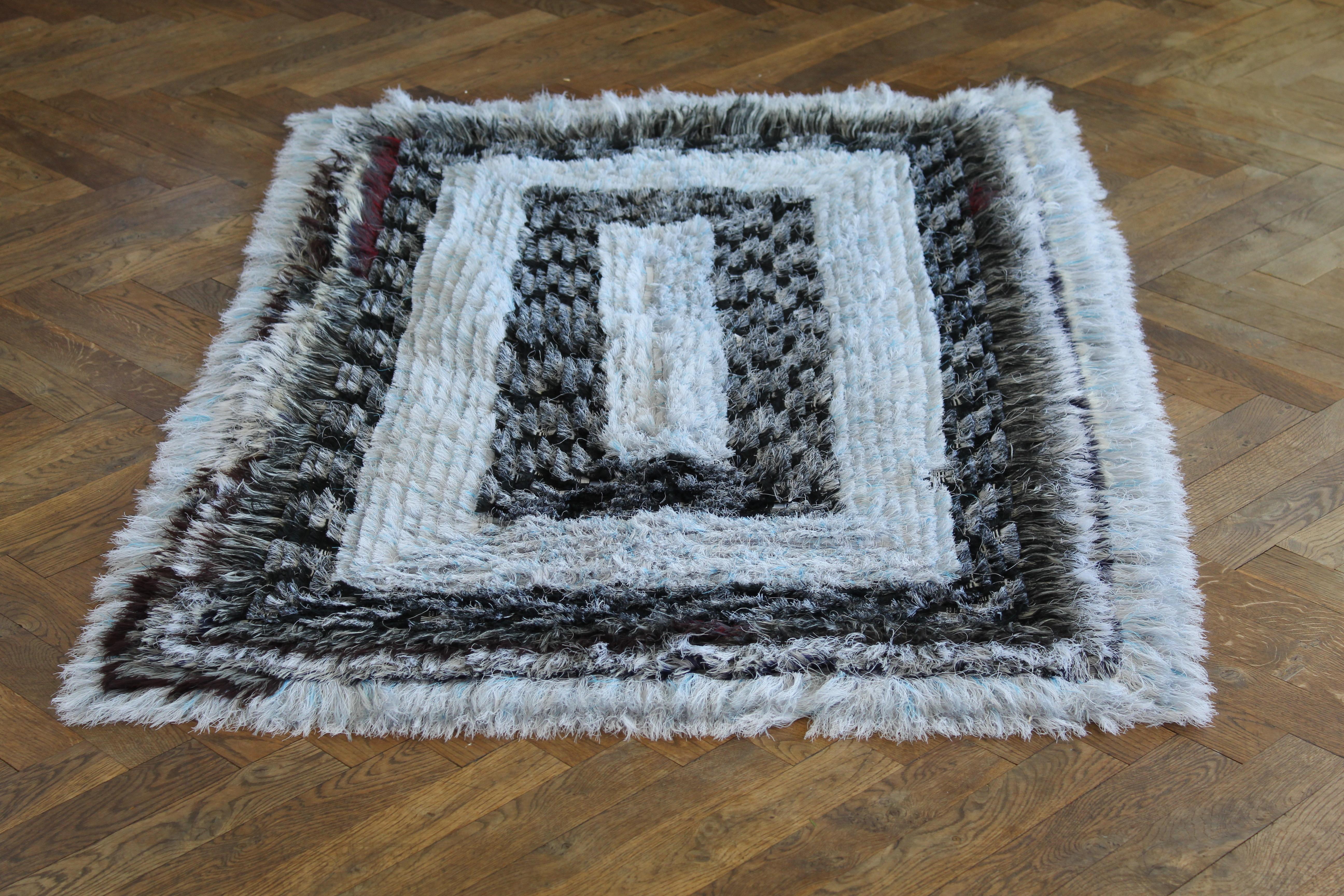 Maalu Maalu upcycled rug 105x155 cm