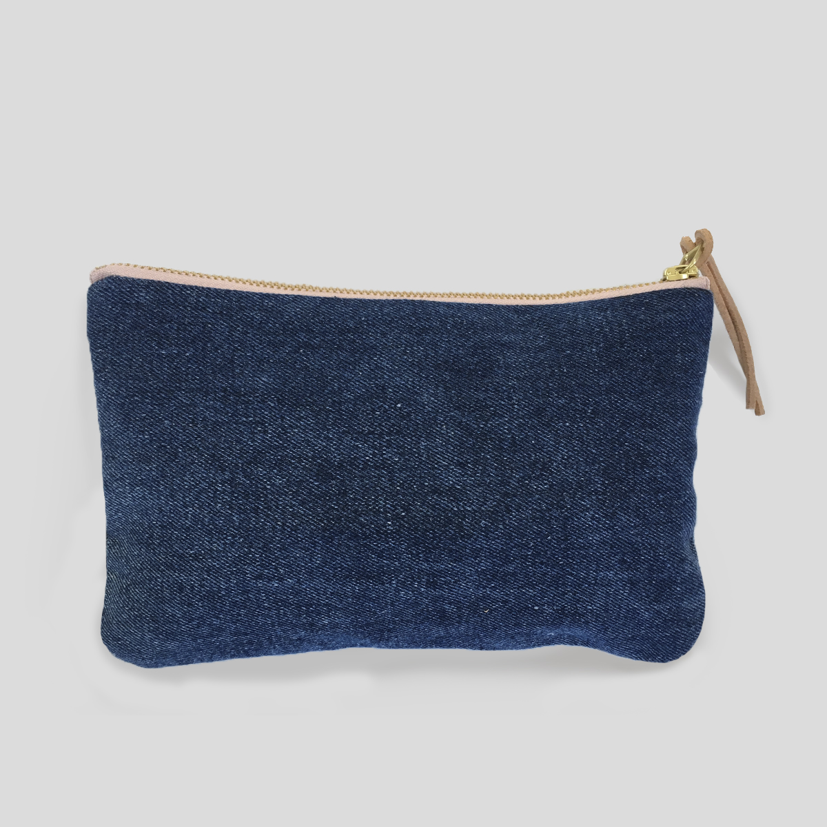 Naked Society upcycled denim pouch