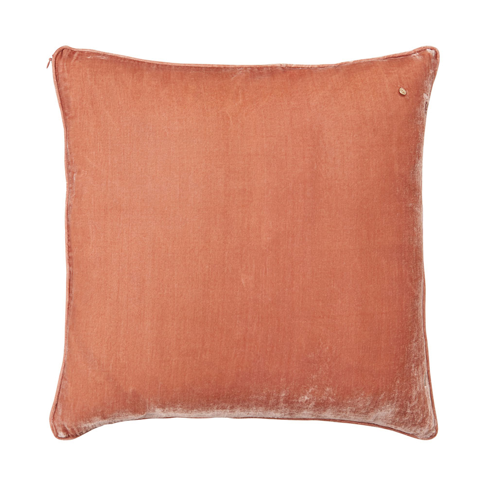 Silk velvet pillow, bubble
