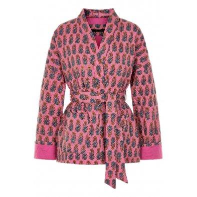 Quilted kimono short, simi girly hurly Vibeke Scott
