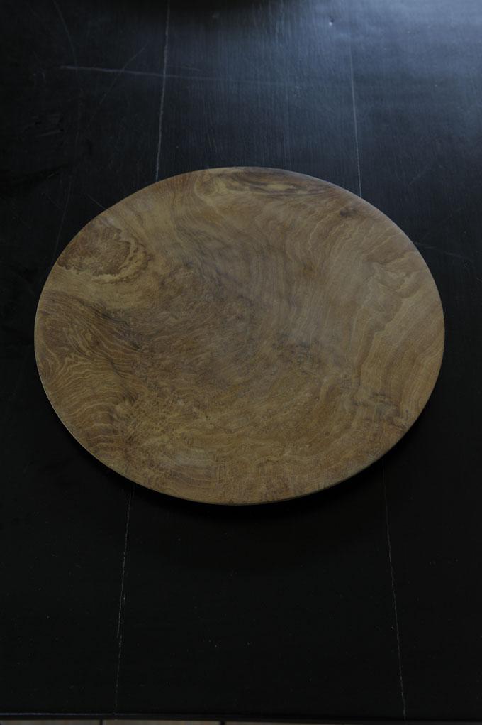 Teak dinner plate 2 sizes Nomad Living