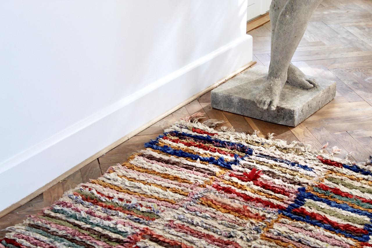 Boucherouite rug, 115x230 cm